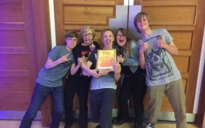 Gold Award for Year 10 Band