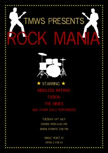 Rock concert poster 2 Website
