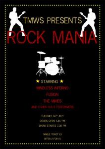 Rock concert poster 2 Website