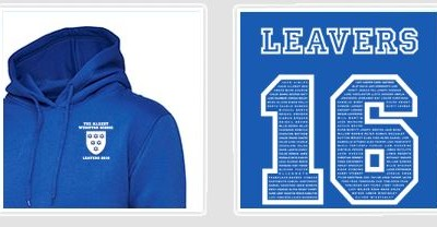Year 11 Leavers Hoodies