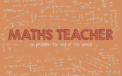 Vacancy: Teacher of Maths