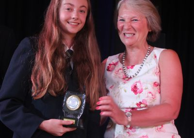 Ella Waring Year 10 student of the year