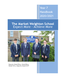 Year 7 Handbook 2020-2021 Booklet