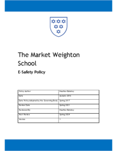 E Safety Policy Review Spring 2024