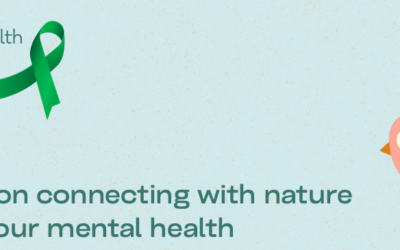 Connecting with nature to improve your mental health.