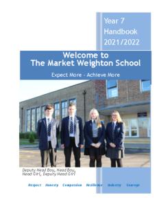 Year 7 Handbook 2021-2022 Booklet