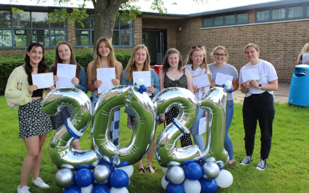2021 GCSE Results Celebrations