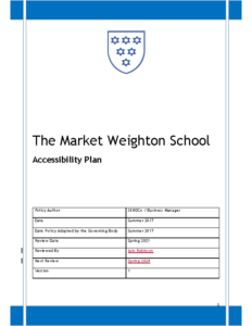 Accessibility Plan Policy Review Spring 2024
